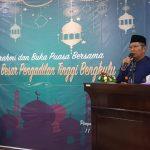 Ketua Pengadilan Tinggi Bengkulu H. Mohammad Idroes, SH., M.Hum. membuka acara