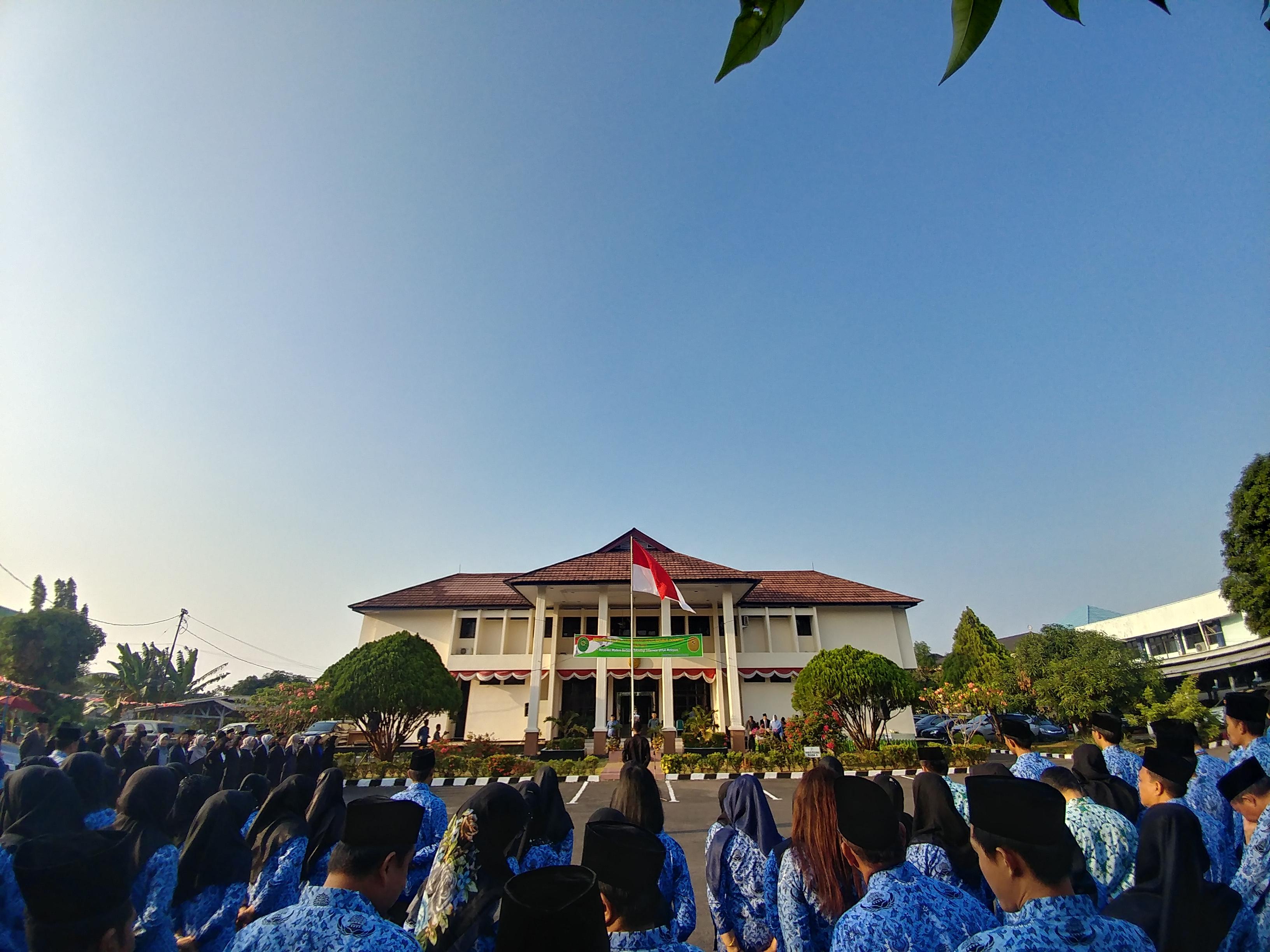 Upacara HUT ke 74 Mahkamah Agung Republik Indonesia